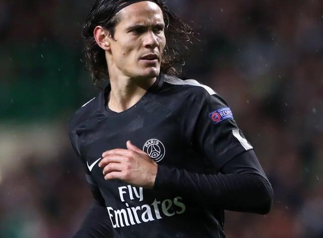 Edinson Cavani scored 200 goals for Paris St Germain