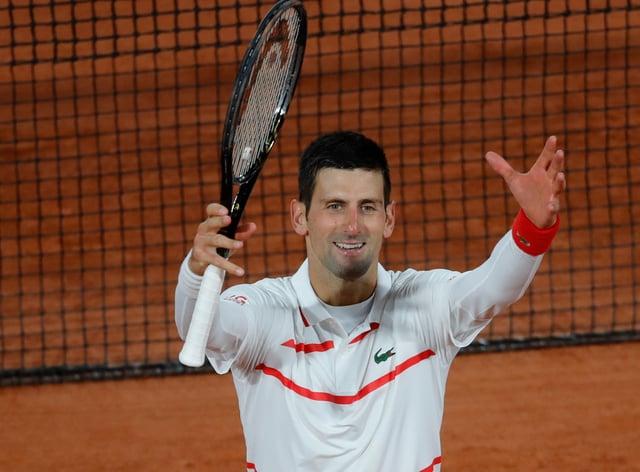 Novak Djokovic has cruised through in Paris so far