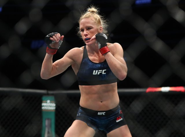 Holly Holm won in the main event at UFC Fight Night 4