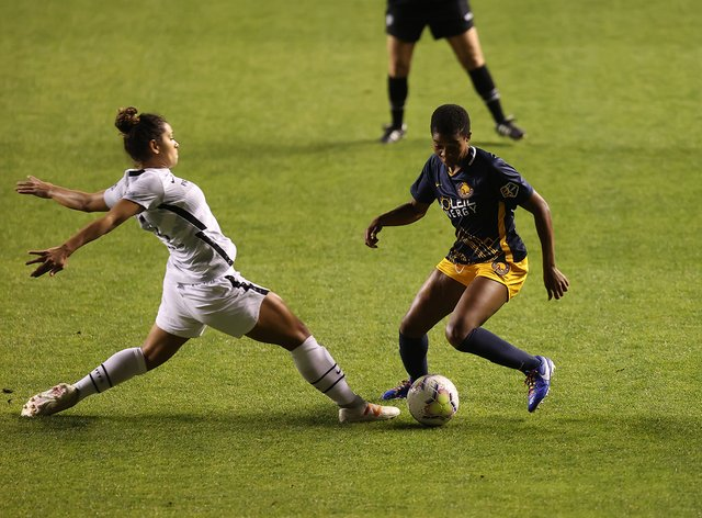 Portland Thorns played in front of fans for the first time in 2020