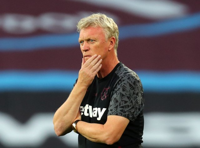 David Moyes remains in isolation following a positive test for coronavirus