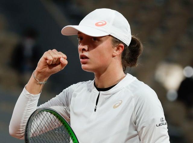 Iga Swiatek was utterly dominant against Simona Halep