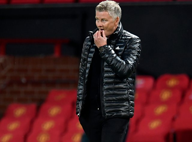 It has been a frustrating past couple of months for Manchester United boss Ole Gunnar Solskjaer (Peter Powell/NMC Pool/PA)