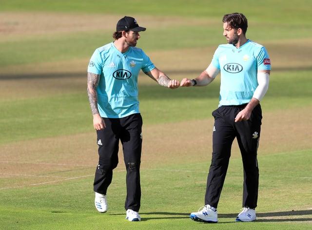 Surrey beat Gloucestershire to reach the Vitality Blast final
