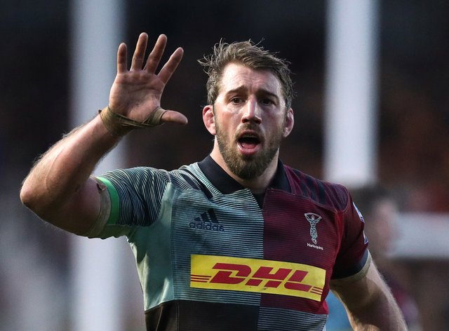 Chris Robshaw was playing his last game for Harlequins