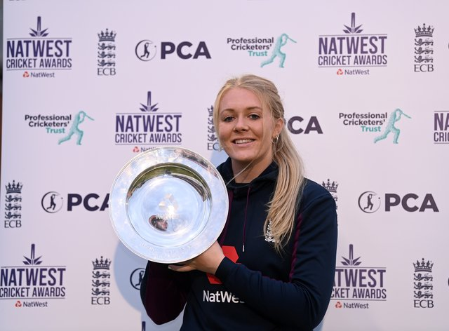 Sarah Glenn has been named women's player of the year by the PCA