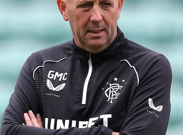 Gary McAllister says Rangers do not want to sign a player to make up the numbers