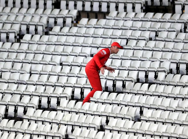 The Vitality Blast Finals Day was scheduled to take place on Saturday but was washed out