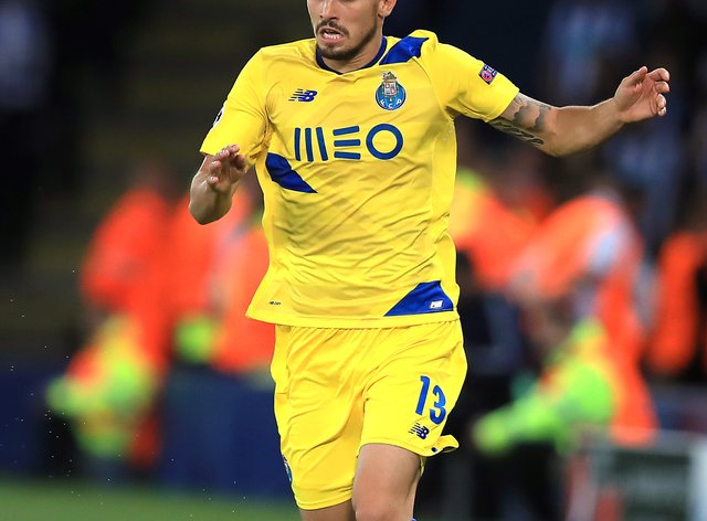 Alex Telles looks set to join Manchester United from Porto