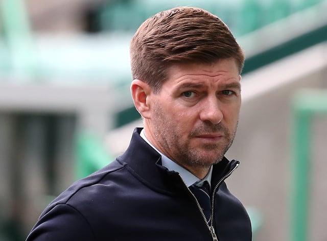 Rangers manager Steven Gerrard wants a new midfielder