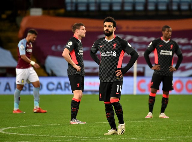 Liverpool suffered an embarrassing 7-2 defeat at Aston Villa on Sunday