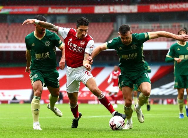 Hector Bellerin earned high praise from Arsenal boss Mikel Arteta