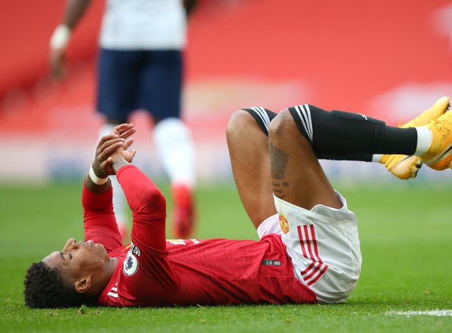 Marcus Rashford vowed Manchester United will bounce back
