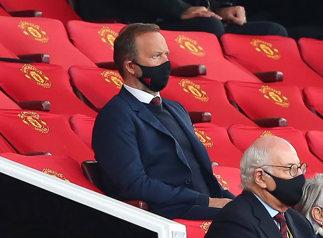 Ed Woodward watches on as Manchester United concede six