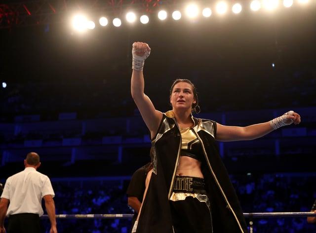 Taylor will defend her lightweight belts against Miriam Gutierrez