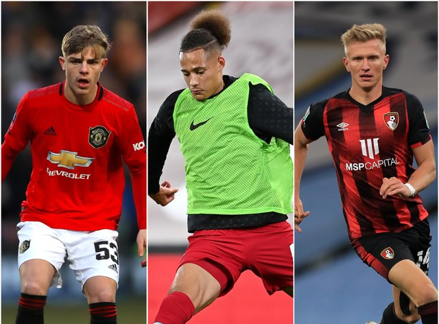 Brandon Williams, Rhys Williams and Sam Surridge have been called into the England Under-21s squad