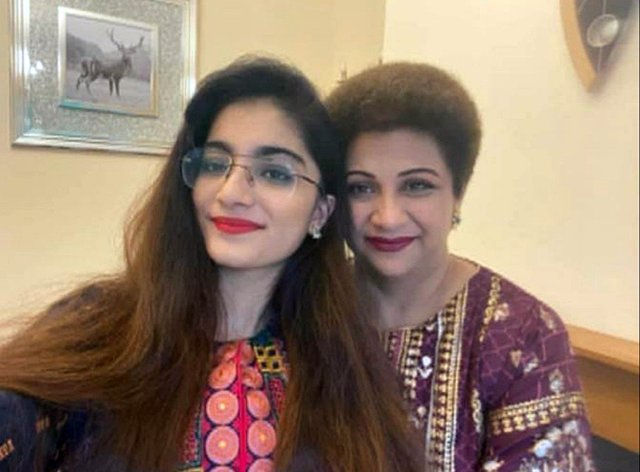 Dr Saman Mir Sacharvi, 49, and her daughter Vian Magrio, 14, who were found dead at their fire damaged home in Burnley