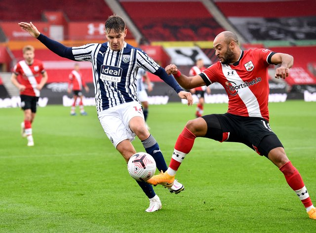 West Brom's Conor Townsend admits his side have to improve following their 2-0 defeat at Southampton
