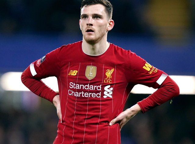 """Liverpool's Andy Robertson has said of the 7-2 loss at Aston Villa: """"At times we couldn't believe it"""""""