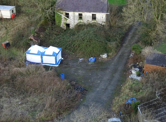 Andrew Jones murdered Mr O'Leary in an ambush after luring him to Cyncoed Farm (Dyfed-Powys Police/PA).