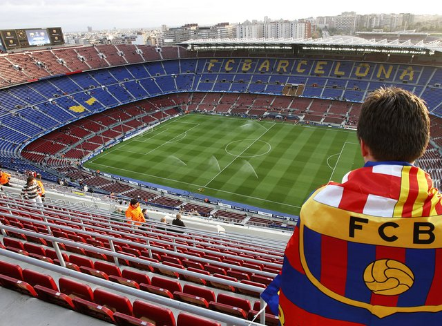 Barcelona have announced a 97million euro loss
