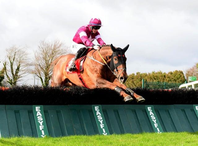 Felix Desjy made a winning chasing debut
