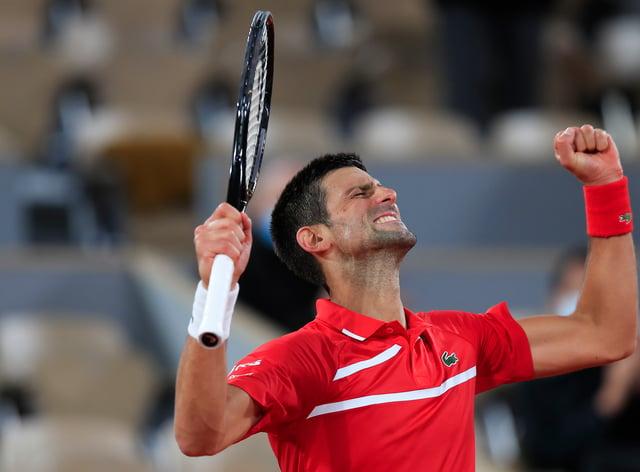 Novak Djokovic cruised through to the French Open quarter-final