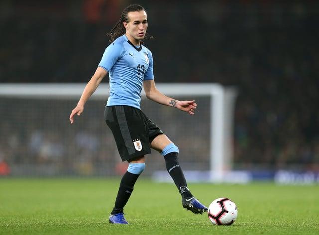 Uruguay's Diego Laxalt has joined Celtic on loan