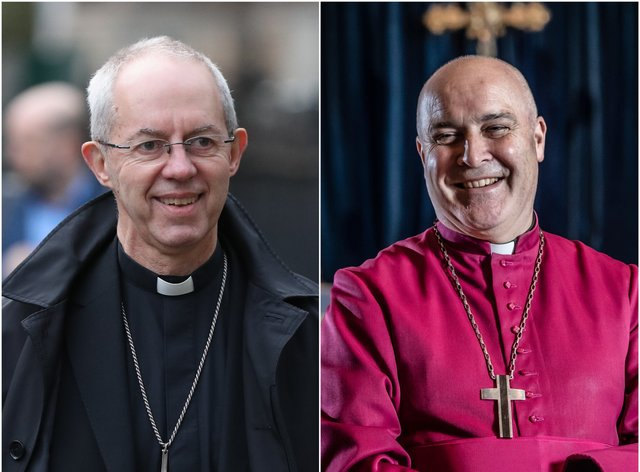 Justin Welby and Stephen Cottrell