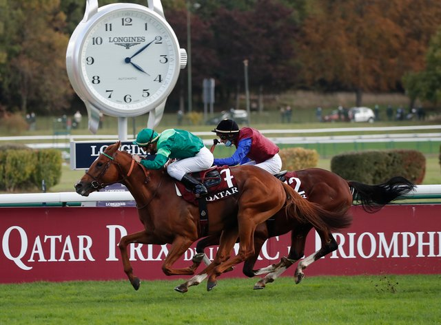 It is time for Sottsass to be retired to stud after his victory in the Qatar Prix de l'Arc de Triomphe at ParisLongchamp
