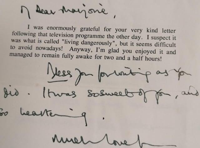 Charles's letter