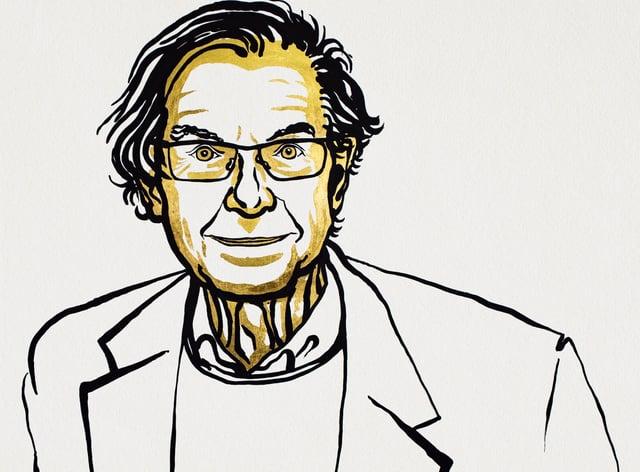 Illustration of Sir Roger Penrose