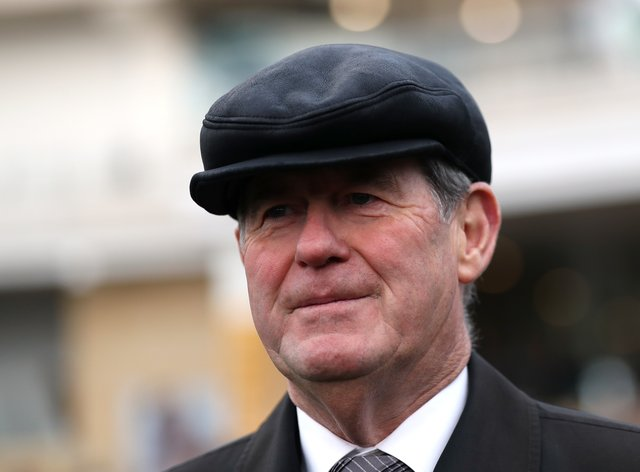 There are no plans for JP McManus to have a retained rider in the UK