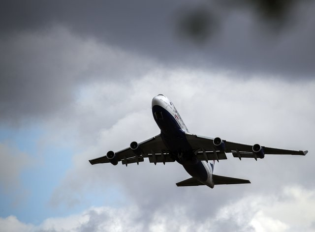 Demand for new airliners will be cut by more than 10% over the next decade due to the coronavirus pandemic, according to Boeing (Steve Parsons/PA)