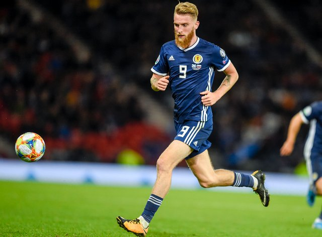 Oli McBurnie is back in the Scotland squad