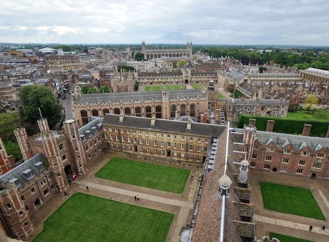 There are now more than 300 black British undergraduates at Cambridge