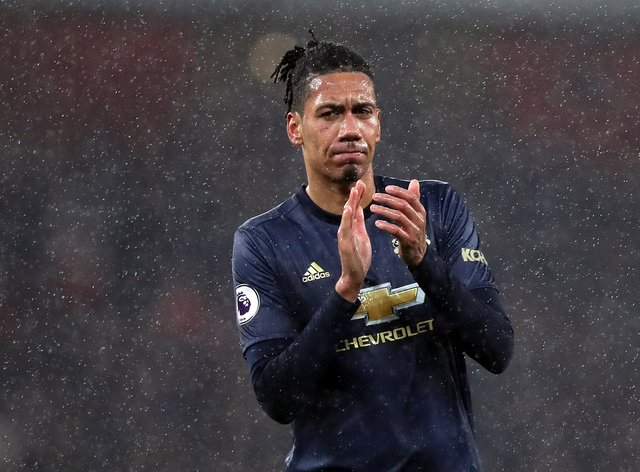 Chris Smalling bid a fond farewell to Manchester United as he returned to Roma