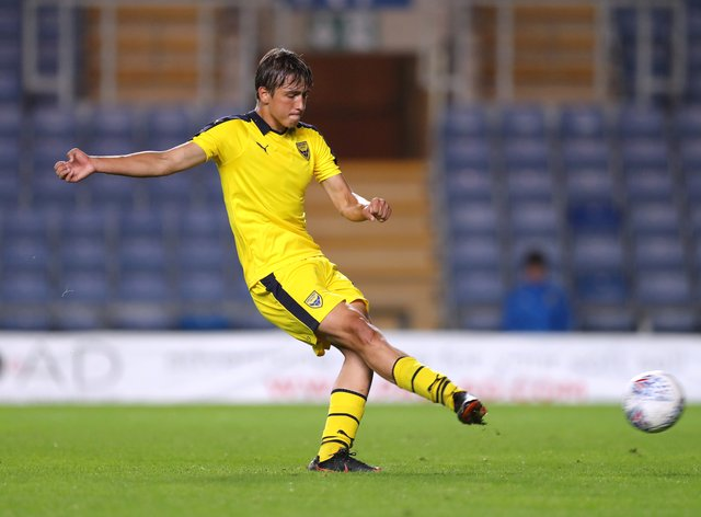 Slavi Spasov, on loan from Oxford, made the breakthrough just before half-time