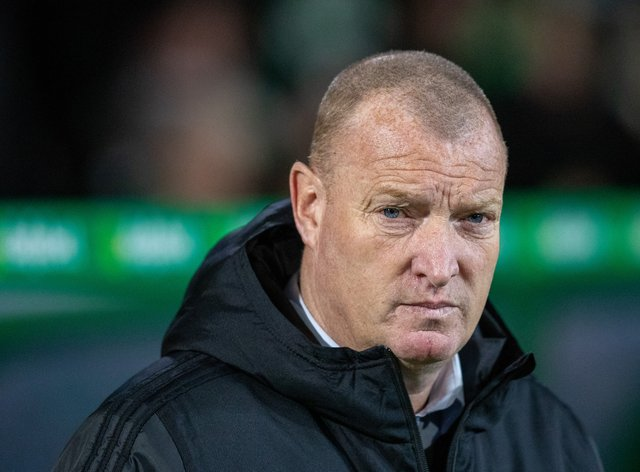 Brian Rice's side suffered a shock defeat