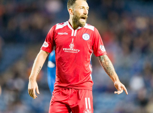 Stephen Dobbie was on target for Queen of the South