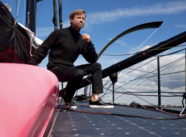 Alex Thomson is preparing for his fifth shot at success in the Vendee Globe