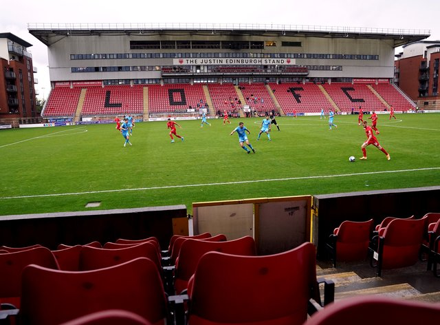 Football clubs like Leyton Orient are still playing in front of empty stands