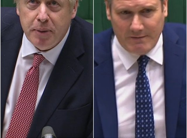 Labour leader Sir Keir Starmer called the lack of explanation for the Government's restrictions 'ridiculous'