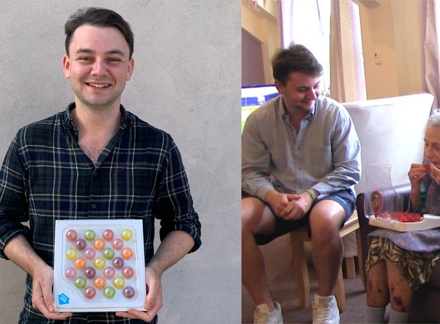 Jelly Drops inventor Lewis Hornby