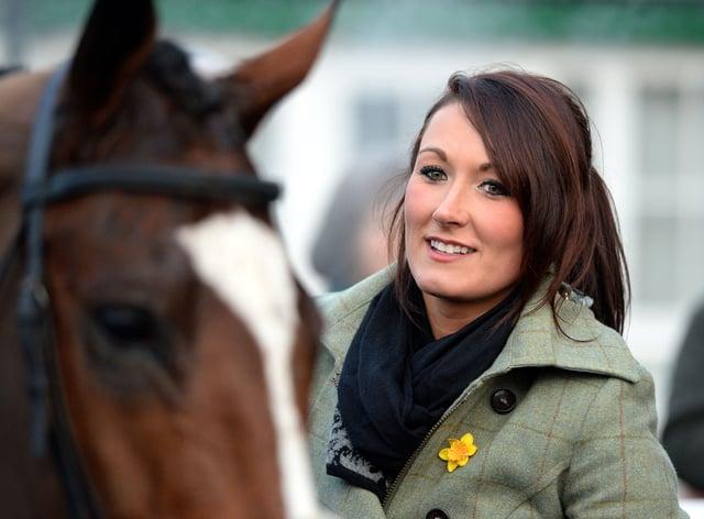 Rebecca Menzies enjoyed a treble at Sedgefield