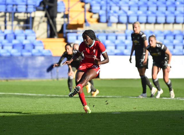 Rinsola Babajide scored a penalty in the match