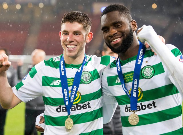 Ryan Christie and Odsonne Edouard are both self-isolating