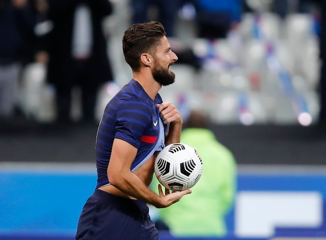 Giroud is now behind only Thierry Henry