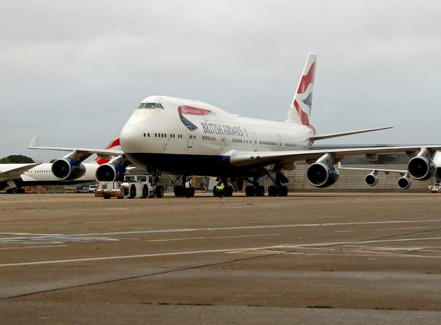 British Airways retires 747 fleet