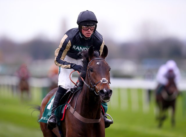 McFabulous could develop into a contender for the Paddy Power Stayers' Hurdle this season